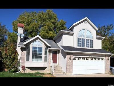 Salt Lake City Single Family Home For Sale: 1175 N Antilles Cir
