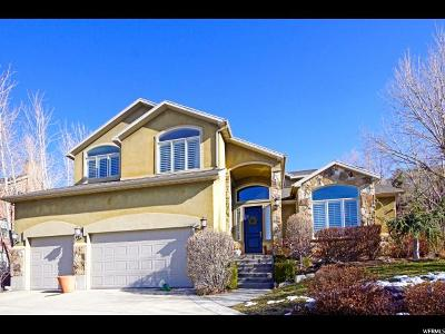 Cottonwood Heights Single Family Home For Sale: 2639 E Chalet Cir