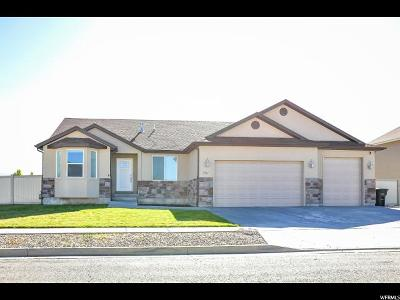 Stansbury Park Single Family Home For Sale: 351 W Lakeside Dr