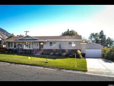 Salt Lake City Single Family Home For Sale: 3216 E Delsa Dr