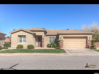 St. George Single Family Home For Sale: 2572 W San Marcus Cir