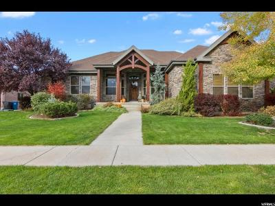 Spanish Fork Single Family Home For Sale: 332 W River Side Ln