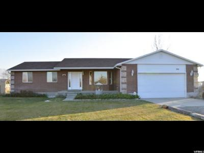 Tooele County Single Family Home For Sale: 986 E Bates Canyon Rd