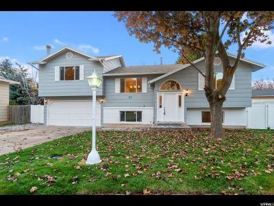 Logan Single Family Home For Sale: 85 S 1170 E