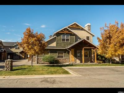 Weber County Townhouse For Sale: 3691 N Huntsman Path #C706