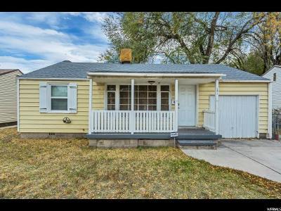 Salt Lake City Single Family Home For Sale: 151 W Macarthur Ave S