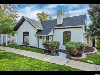 Salt Lake City Single Family Home For Sale: 454 E 6th Ave N