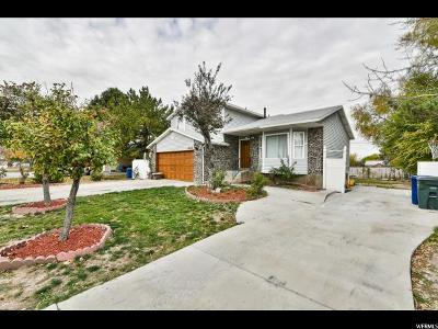 West Valley City Single Family Home For Sale: 6324 W Meander Ave