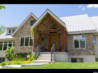 Springville Single Family Home For Sale: 1526 S Hobble Creek Haven Rd