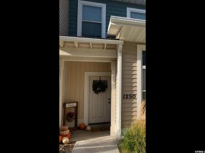 Nibley Townhouse For Sale: 1250 W 2401 S