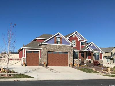 West Jordan Single Family Home For Sale: 7372 W Aberford