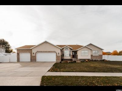West Jordan Single Family Home For Sale: 8242 S Cobble Creek Dr W
