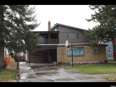 Single Family Home For Sale: 609 Jefferson