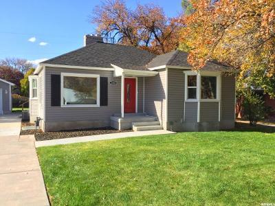Salt Lake City Single Family Home For Sale: 2480 S 1700 E
