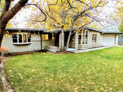 Holladay Single Family Home For Sale: 4720 S Bron Breck St