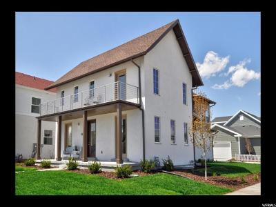 South Jordan Single Family Home For Sale: 5172 W Dock St S #370