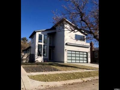 Salt Lake City Single Family Home For Sale: 1769 E Bryan S