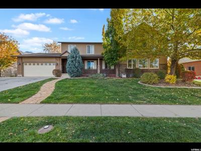 Kaysville Single Family Home For Sale: 1417 Haight Creek Dr