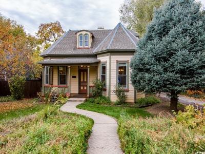 Salt Lake City Single Family Home For Sale: 1132 S 1100 E