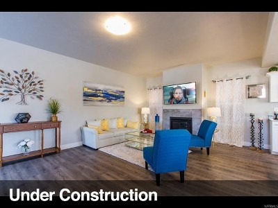 Eagle Mountain Single Family Home For Sale: 8626 N Cottonwood Aly #A6