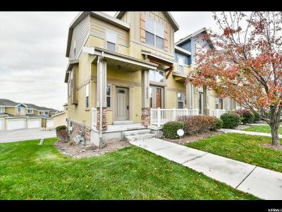 Herriman Townhouse For Sale: 5122 W Fortrose Dr