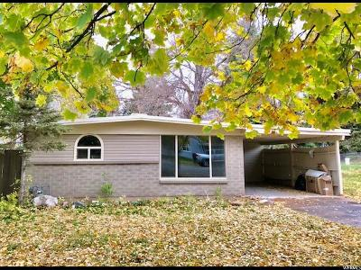 Weber County Single Family Home For Sale: 1036 E Oak St