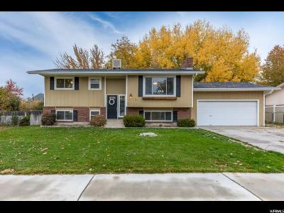 Orem Single Family Home For Sale: 750 W 1330 N
