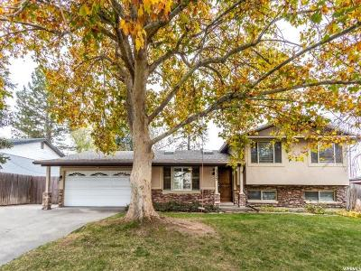 Cottonwood Heights Single Family Home For Sale: 2322 E 6660 S