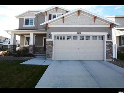 South Jordan Single Family Home For Sale: 3667 W Eden Meadow Way S