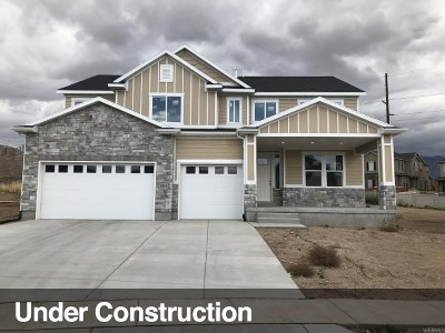 Lehi Single Family Home For Sale: 3438 N 200 W #319