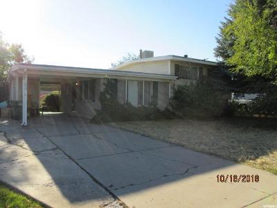 Davis County Single Family Home For Sale: 1659 N Celia Way