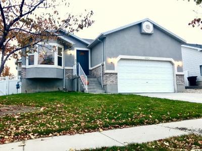 West Jordan Single Family Home For Sale: 6283 W Liza S