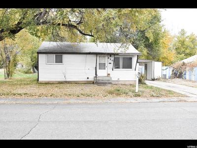 Davis County Single Family Home For Sale: 650 N Hill Villa