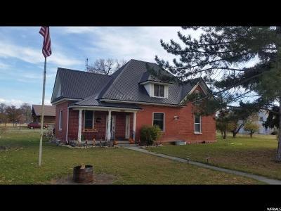 Weston Single Family Home For Sale: 112 S 100 E