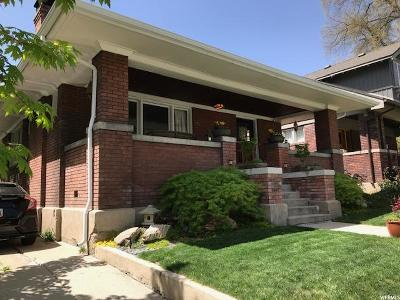 Salt Lake City Single Family Home For Sale: 83 N G St E