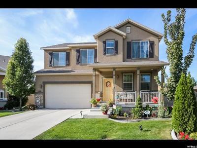 South Jordan Single Family Home For Sale: 1588 W Heather Grove Ln