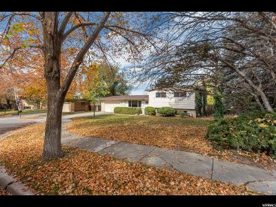 Cottonwood Heights Single Family Home For Sale: 2929 E Oakview Cir S
