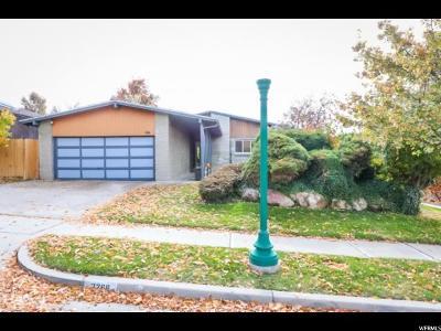 Salt Lake City Single Family Home For Sale: 2266 E Logan S