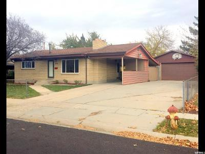 West Valley City Single Family Home For Sale: 4299 S Falcon W
