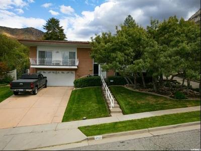 Salt Lake City Single Family Home For Sale: 4421 S Crest Oak Dr E