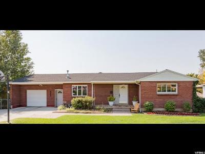 Salt Lake City Single Family Home For Sale: 4254 S Lynne Ln E