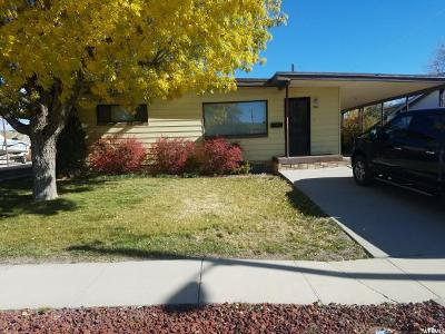 Price UT Single Family Home For Sale: $124,000