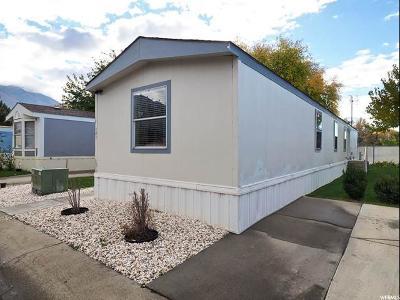 Provo Single Family Home For Sale: 340 W 920 Unit S #121