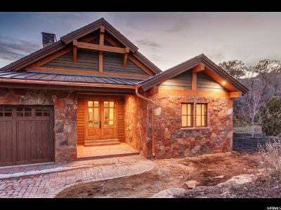 Wasatch County Single Family Home For Sale: 147 N Club Cabins Court (Lot Cc-8) #CC-8