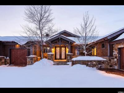 Wasatch County Single Family Home For Sale: 3780 E Tuhaye Hollow Dr