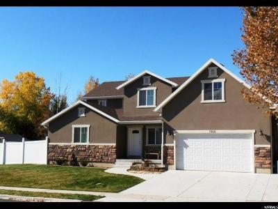 Lehi Single Family Home For Sale: 1505 N 250 W