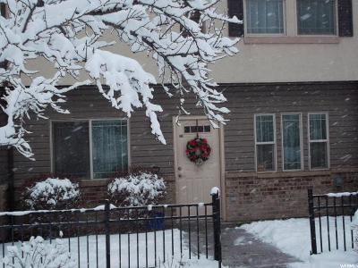 Wellsville Townhouse For Sale: 1525 N 400 W #102