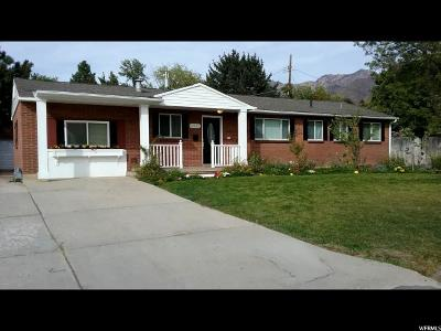 Cottonwood Heights Single Family Home For Sale: 2835 E Bengal Blvd S