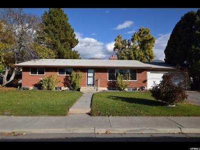 Provo Single Family Home For Sale: 1504 N 1830 W