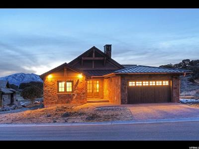 Wasatch County Single Family Home For Sale: 133 N Club Cabins Court (Cc-11) #CC-11